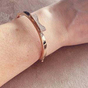 🧡 Kate Spade Ready Set Bow Bracelet, Rose Gold